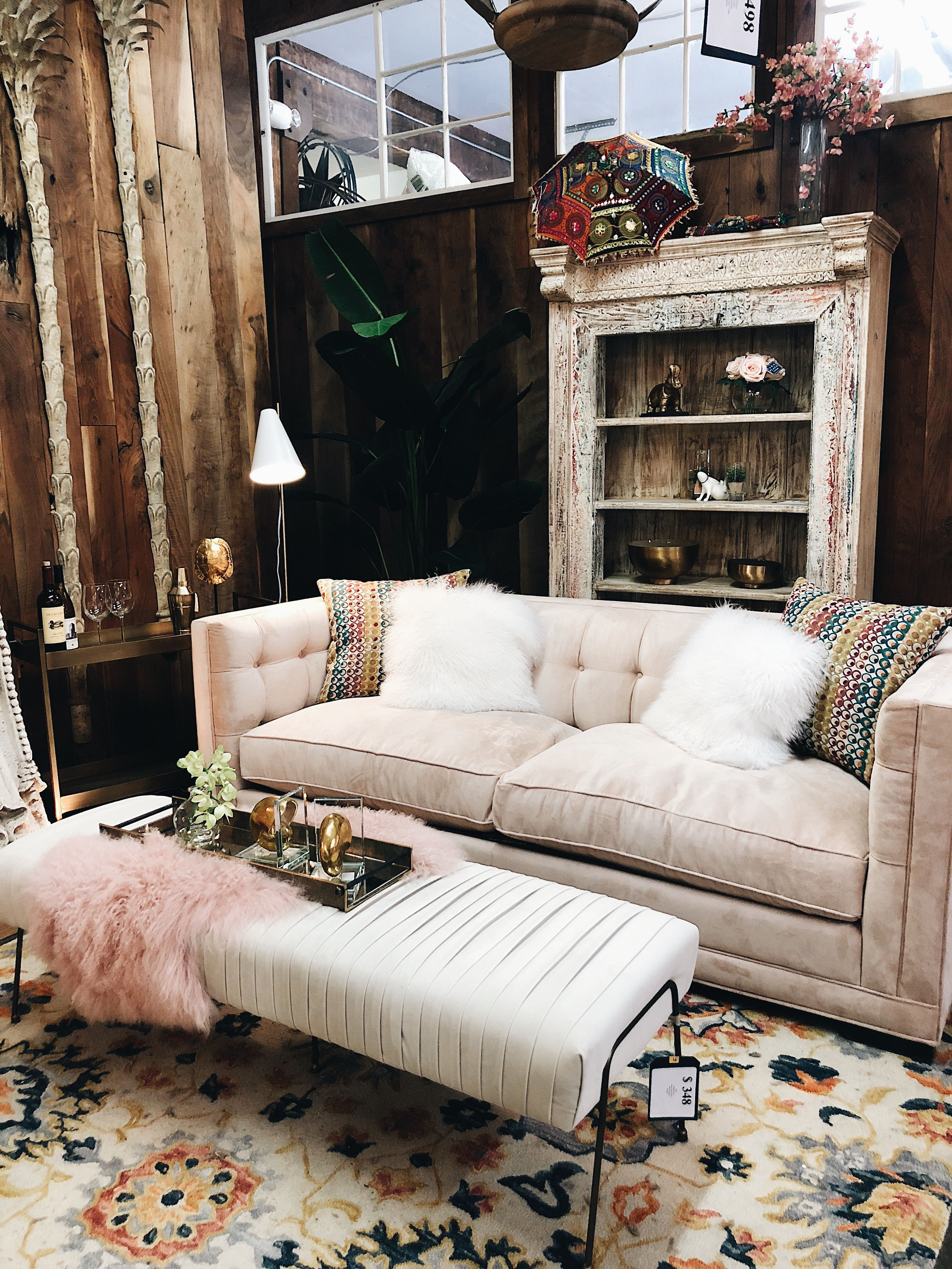A closer look at one of the vintage inspired staging areas at our se portland location