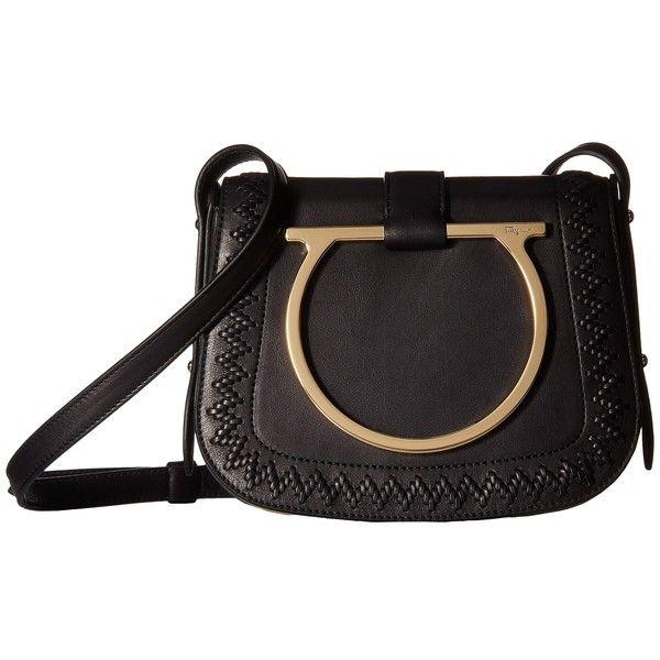1b0489f6b8 Salvatore Ferragamo Sabine 21G322 (Nero) Handbags ( 1