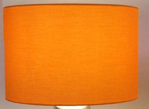 Orange Drum Lampshade Acoustic Fabric Lamp Shades Diy Kitchen