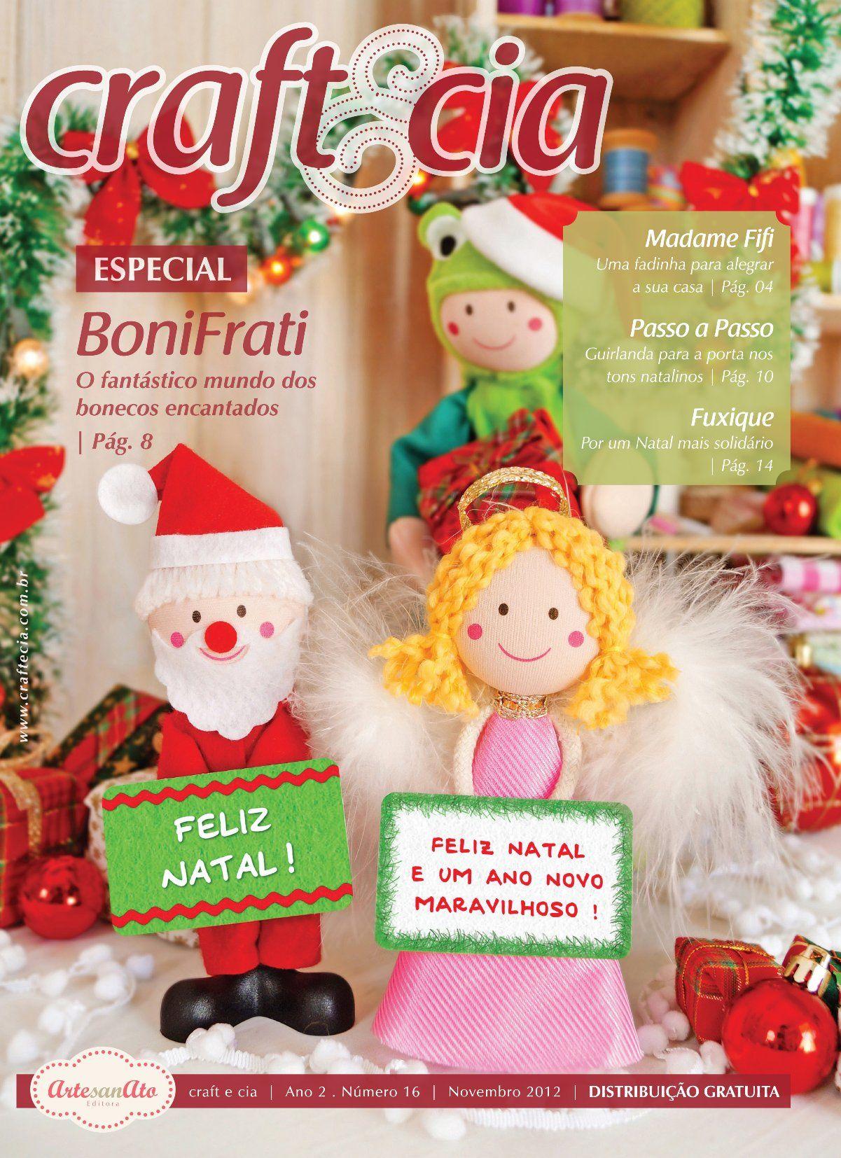 Revista Craft & Cia • Especial de Natal com a BoniFrati :)