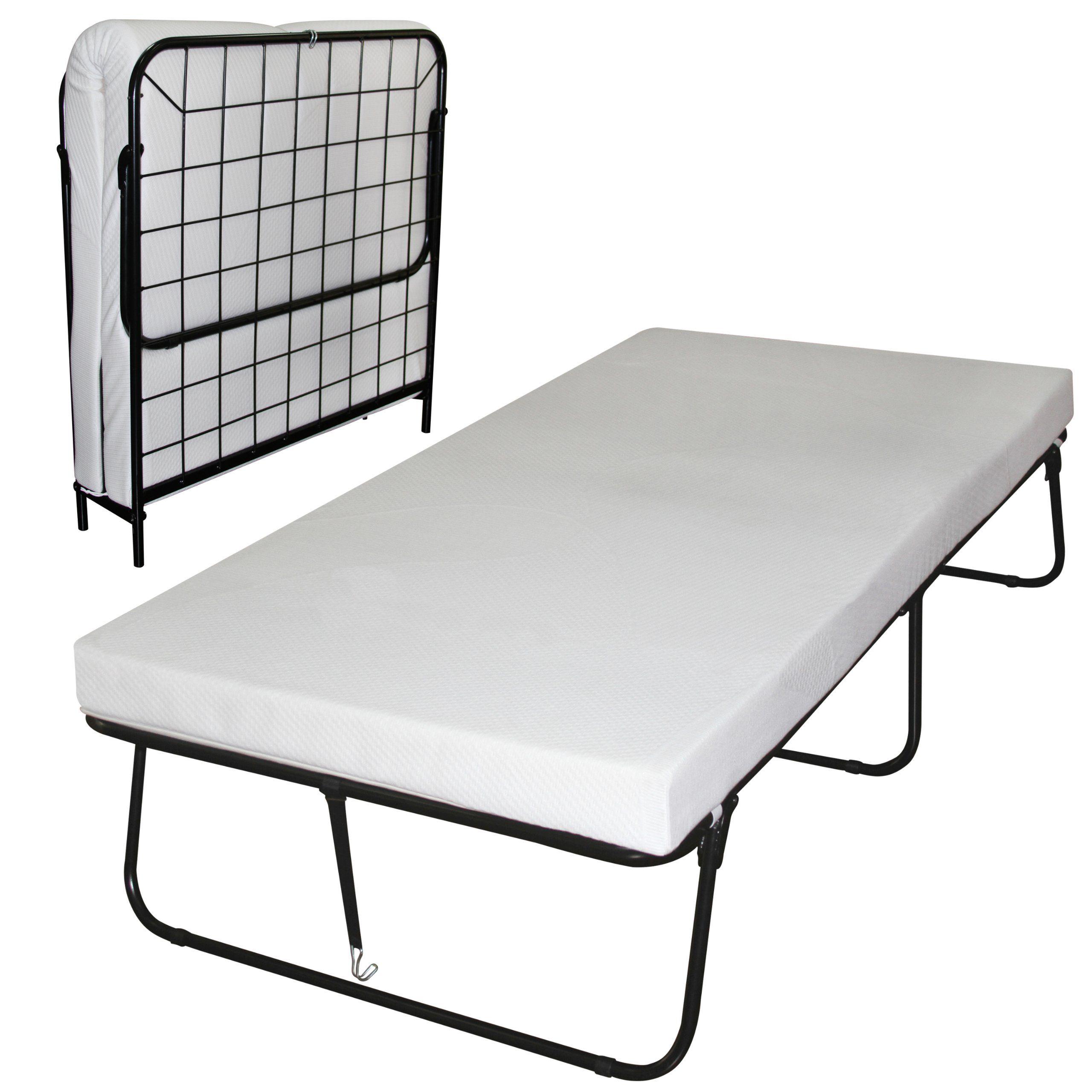 Amazon Com Sleep Master Traveler Premier Folding Frame Twin Guest Bed Plus Bonus Storage Bag Roll Away Beds Beds For Sale Guest Bed
