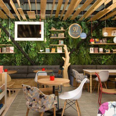 9 3 4 Bookstore Cafe Location Medellin Antioquia Colombia The