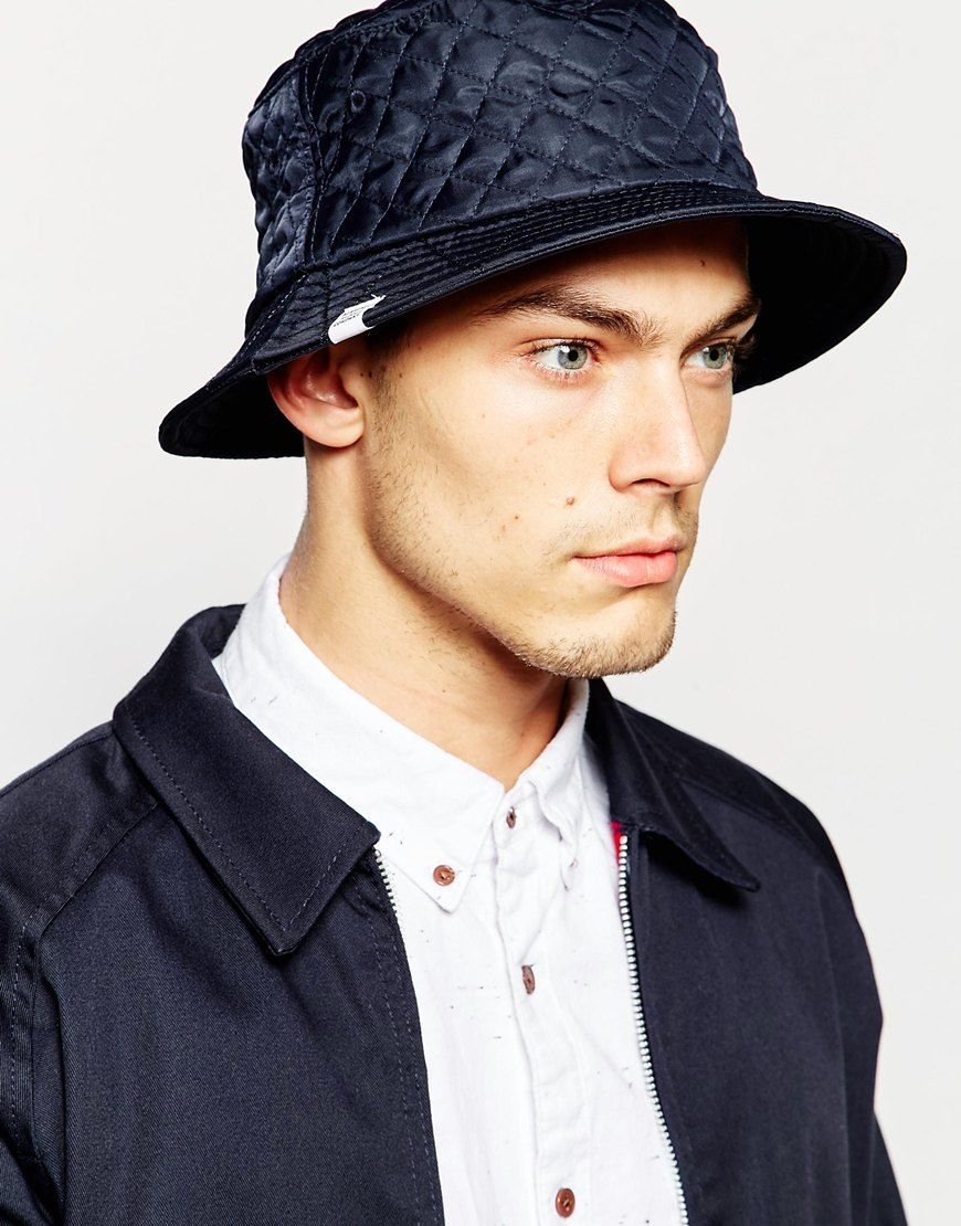 Image 3 of Herschel Supply Co Lake Quilted Bucket Hat  3df39ad40c4c