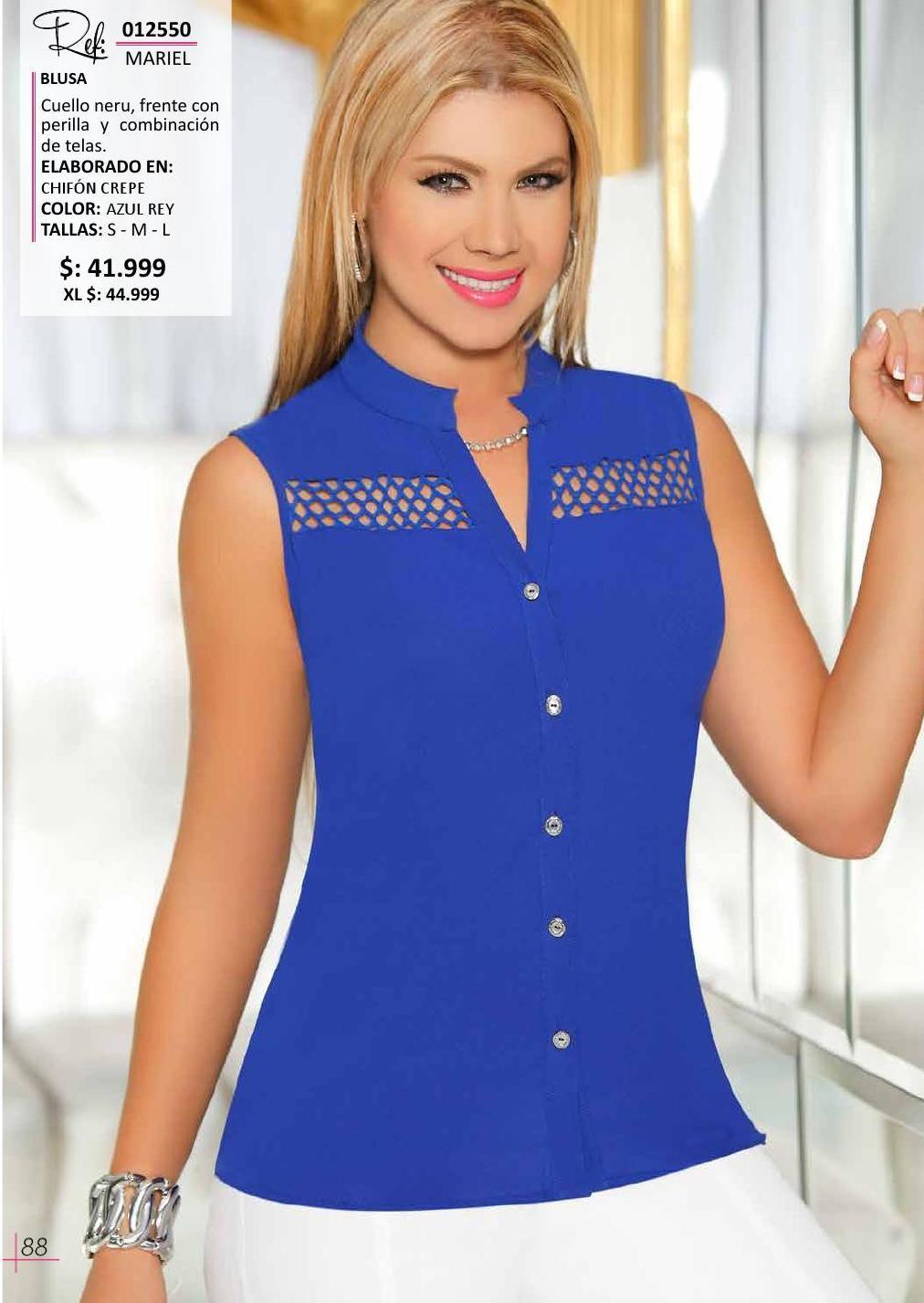 Bbl Edicion 32 Blusas Femininas Modelo De Blusas Sociais Saias Pretas Curtas
