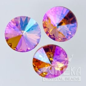 37e11d55c 1122 12mm Rivoli TOPAZ GLACIER BLUE | Eureka Crystal Beads ...