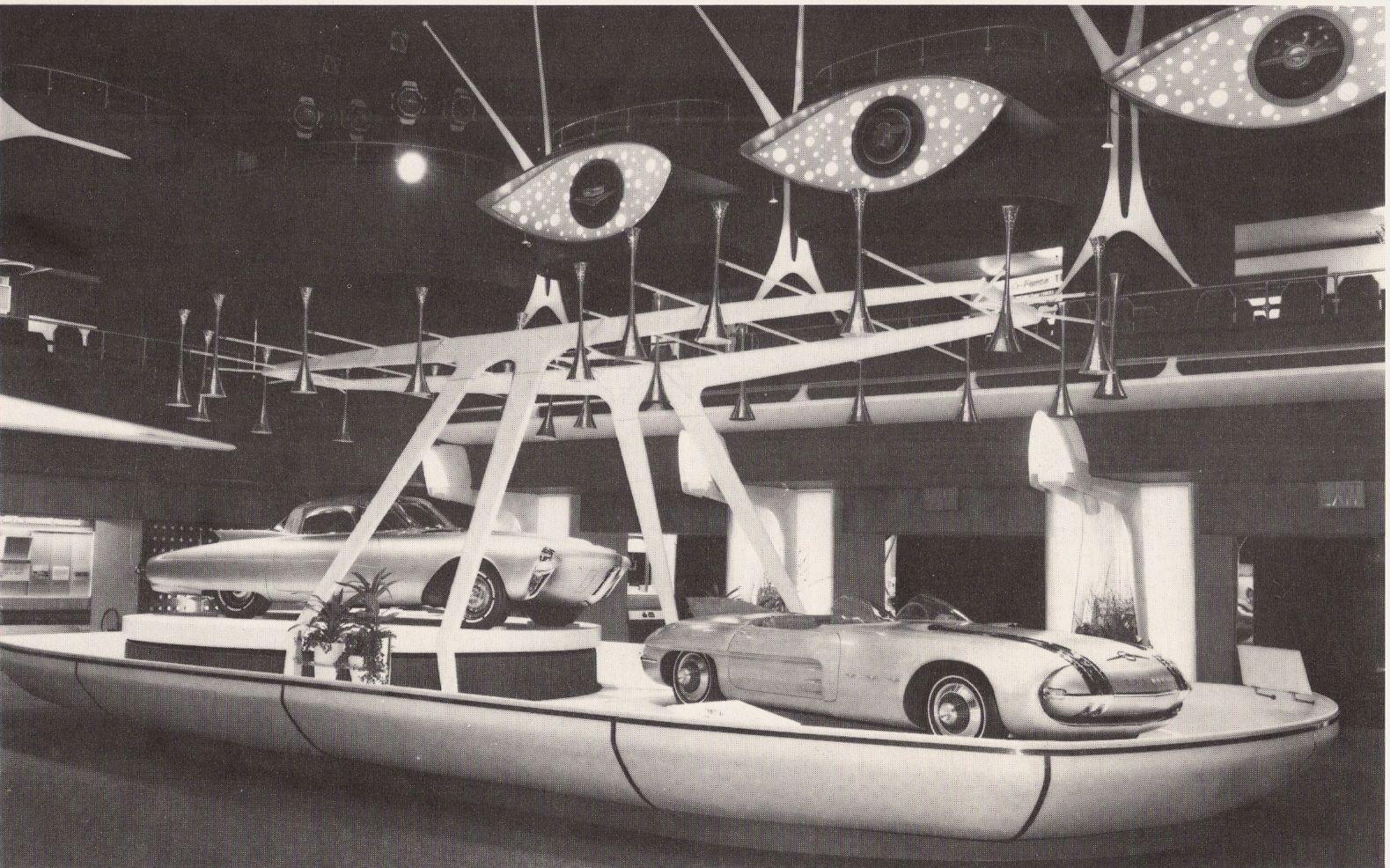 Oldsmobile Golden Rocket And Pontiac Club De Mer