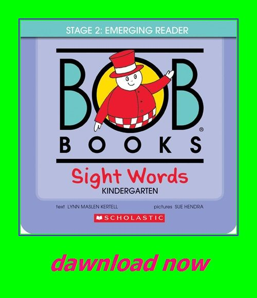 Bob Books Sight Words Kindergarten Sight Words Kindergarten Bob Books Sight Words