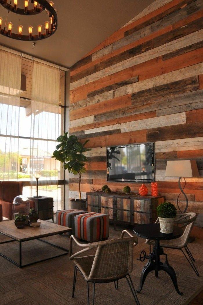 Holzwand Holzverkeidung Schlafzimmer Ideen Verschachtelt