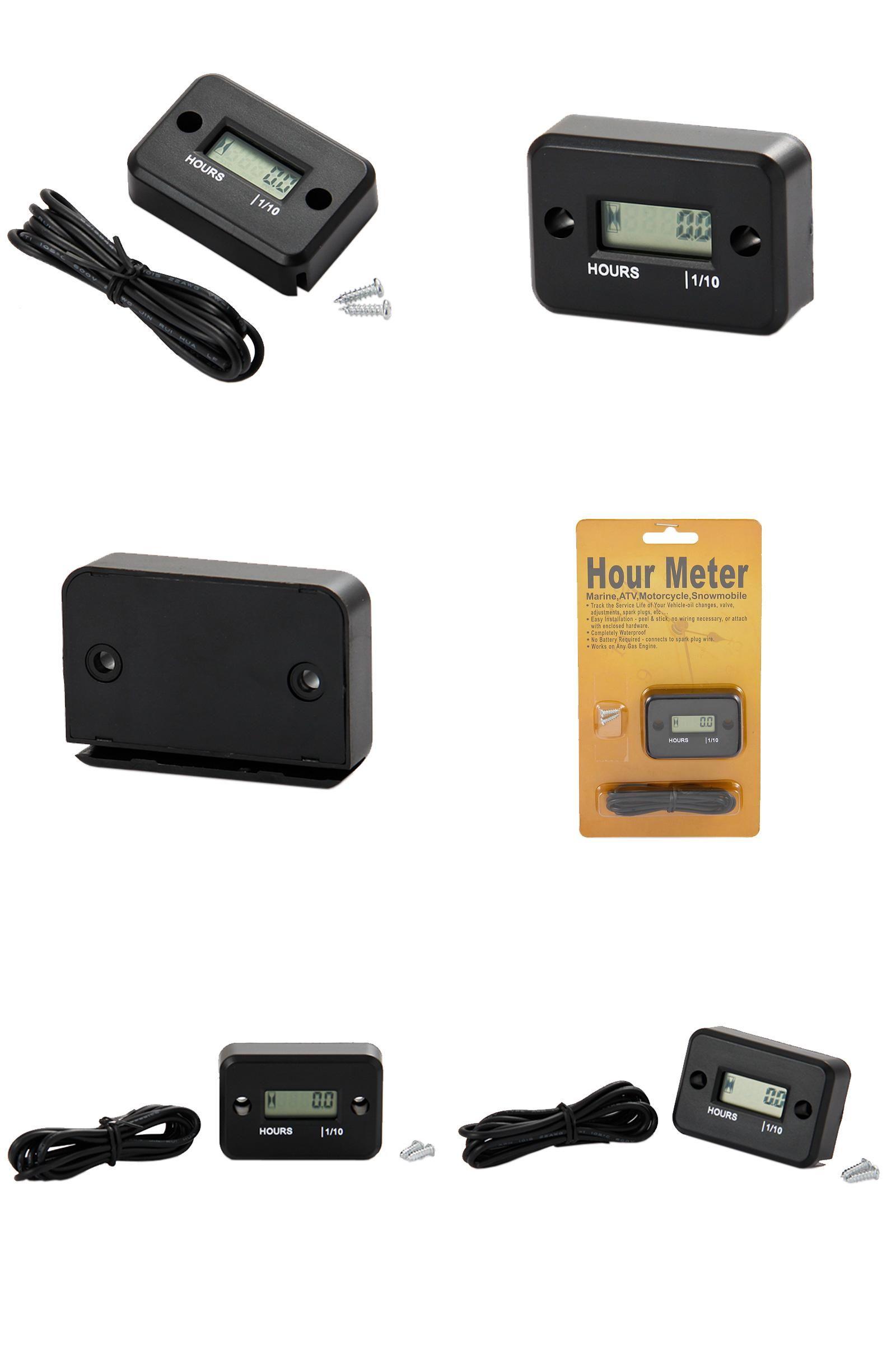 Jet Boat Hour Meter Wiring Trusted Schematics Diagram Vdo Marine Visit To Buy Waterproof Digital Lcd Counter For Dirt Auto Fuel Gauge