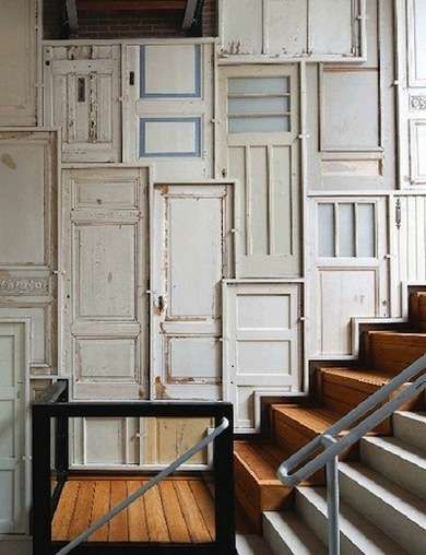 10 New Uses for Old Doors & 10 New Uses for Old Doors | Repurposed doors Repurposed and DIY ideas