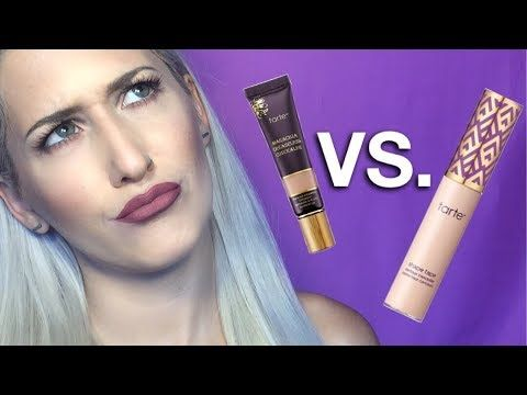 a21ec844ced Tarte Shape Tape VS Tarte Maracuja Creaseless Concealer - YouTube First  impression, review, and wear test of these under eye concealers