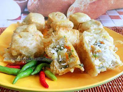 Resep Tahu Isi Bihun Sayuran Renyah Resep Tahu Resep Masakan Indonesia Masakan Indonesia