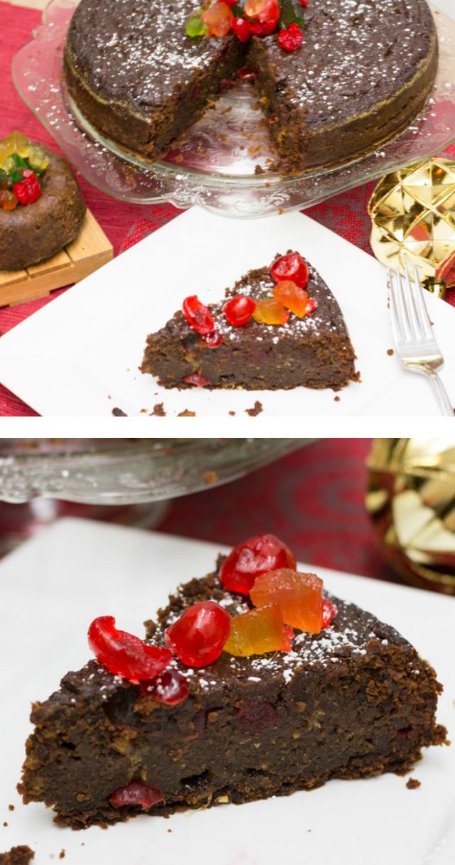 Trinidad Black Cake Recipe Rum Fruit Cake Savoury Cake Fruitcake Recipes