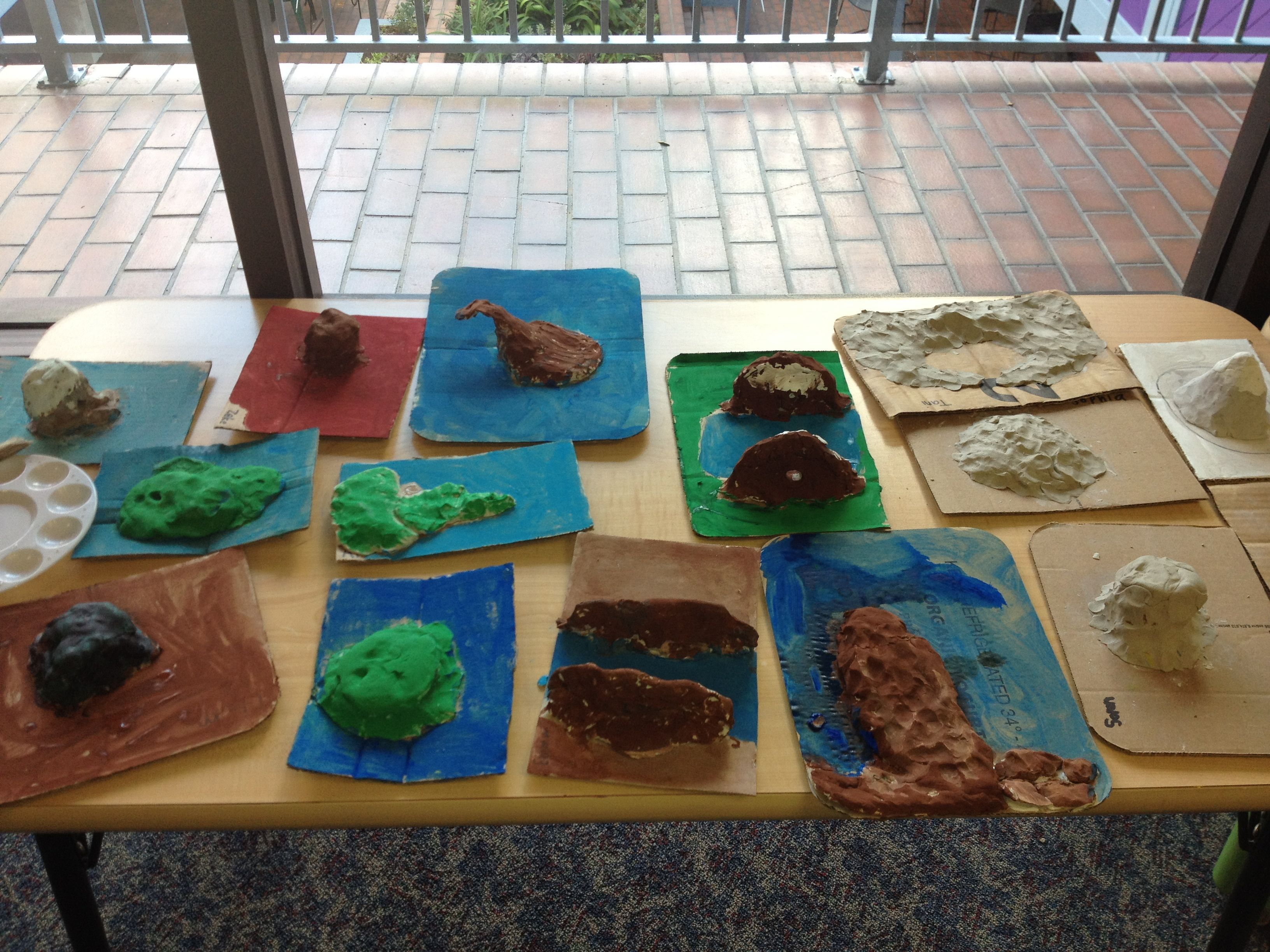Clay Landforms A Hands On Approach To Teaching Kids About