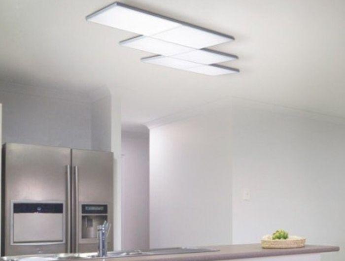 Souvent 6/12/18W panneau LED Lumière Verre Plafonnier Intensité variable  AW01