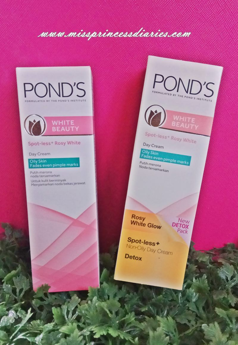 Beauty Detox Pond S Spot Less Rosy White Day Cream With Images