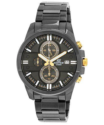 Casio EFR-543BK-1A9VUDF (EX224) Edifice Chronograph Black Dial Men's watch   Casio. Casio watch price. Watches for men