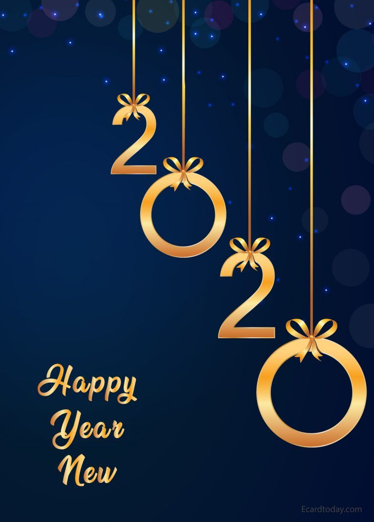 Best Happy New Year Images 2020 E Card Today Happy New Year Wallpaper Happy New Year Images New Year Images