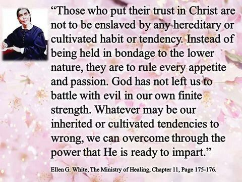 Ellen G. White, The Ministry of Healing