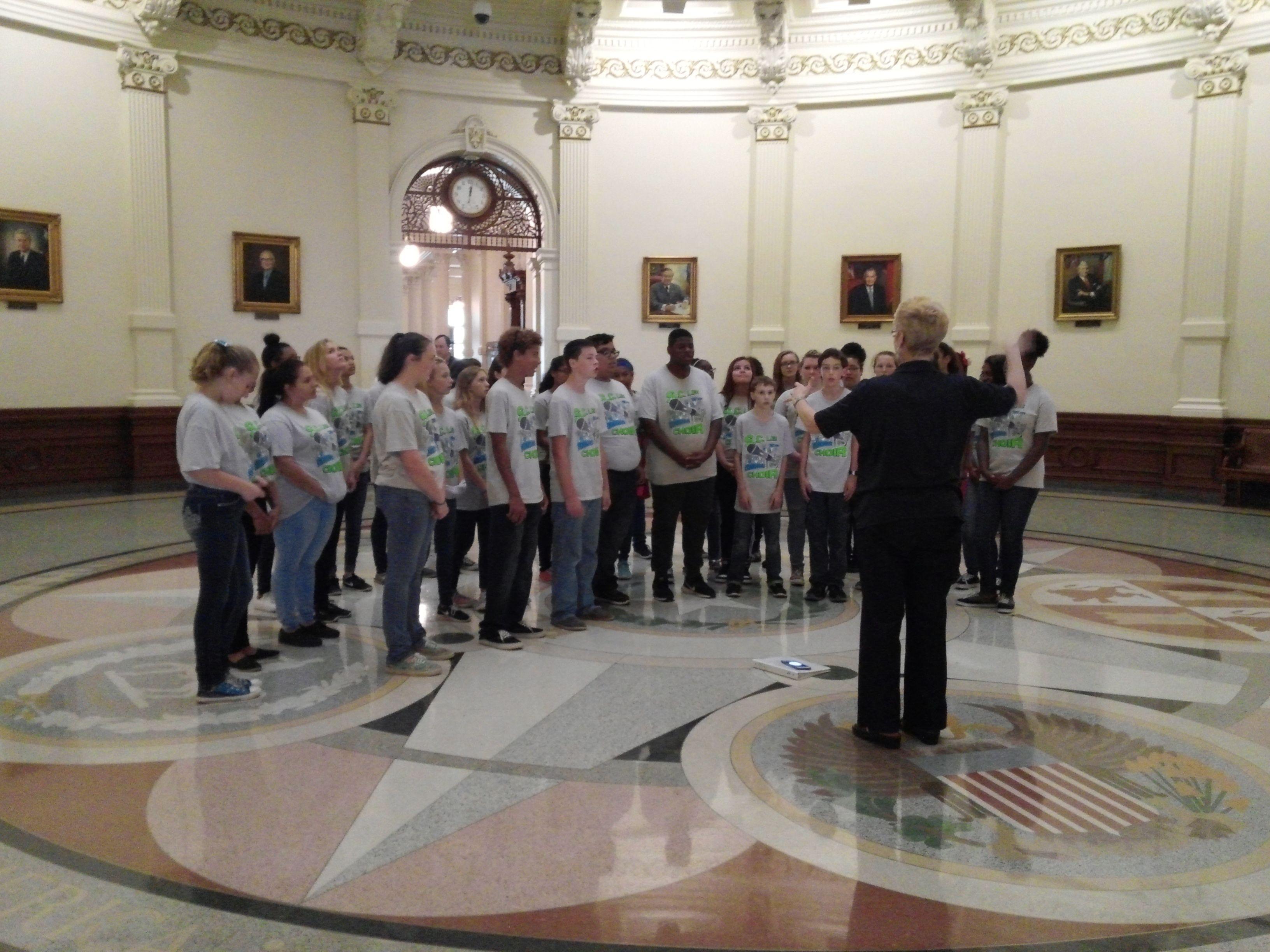 Sc Lee Jr High School Choir May 26