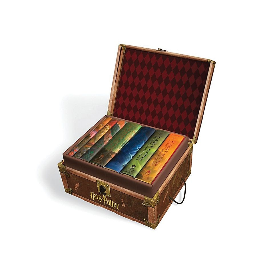 Harry potter books 17 hardcover boxed set by jk rowling