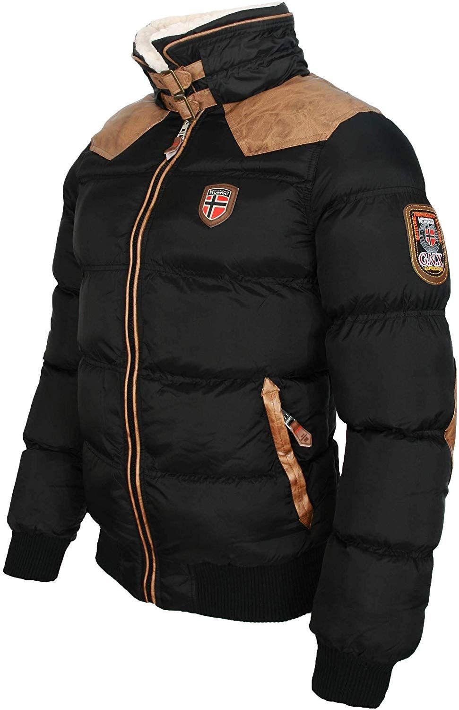 Geographical Norway warme Winterjacke Designer Herren Winter