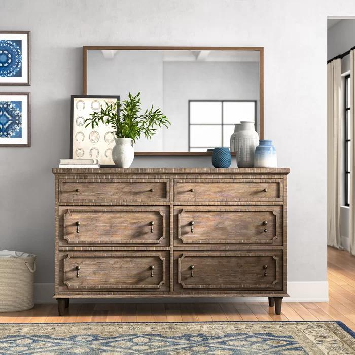 Clintwood 6 Drawer Double Dresser Dresser Decor Bedroom Dresser Decor Furniture