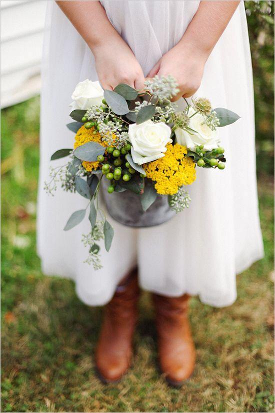 Elegant Tennessee Backyard Wedding | Flower Girls & Ring Bearers ...