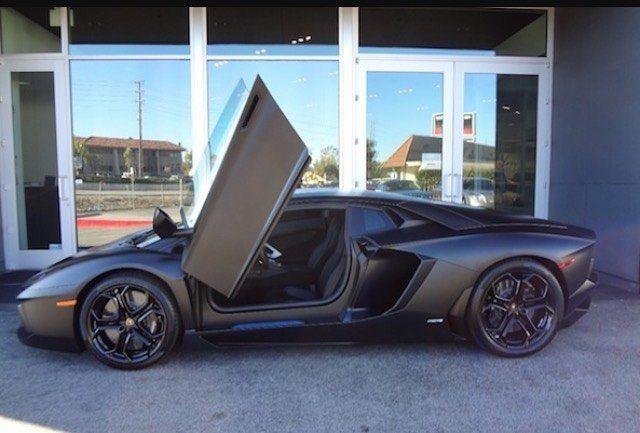 Mr. West's Lamborghini Aventador matte black #kanyewest #kanye ...