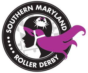 SMRD Logo Redesign.   Design: Southern Maryland Roller Derby