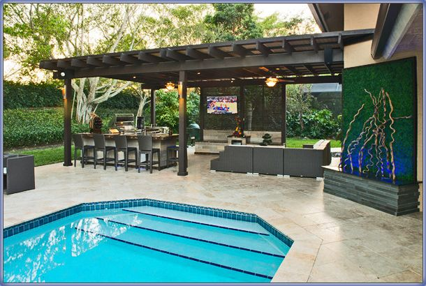 Swimming Pool Remodeling Renovation Ideas Outdoor Pergola
