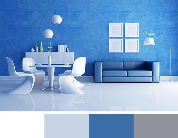 12 Modern Interior Colors Decorating Color Trends Living Room BlueColors