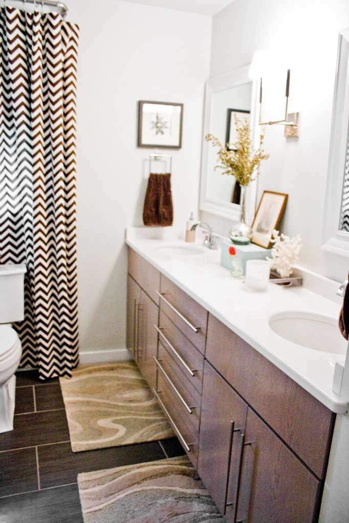 Love The Double Sconce Between Two Mirrors Amy Nice Pretty Bathrooms House Interior Bathroom Space