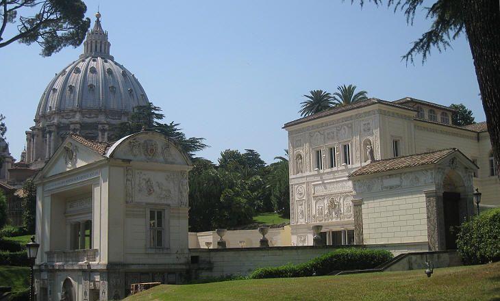 Inside Vatican walls