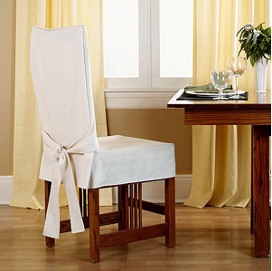 Home Slipcovers for chairs, Dining room chair slipcovers