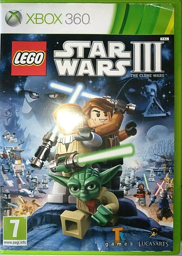 Lego Star Wars Xbox 360 European Version Pal Uk Lego Cazs