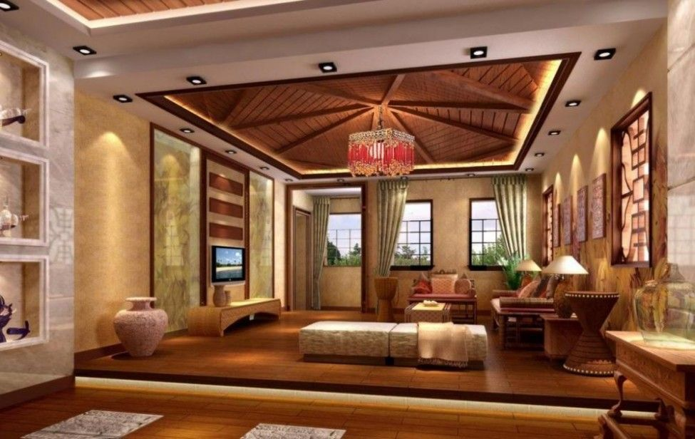 25 Elegant Ceiling Designs For Living Room In 2020 Ceiling