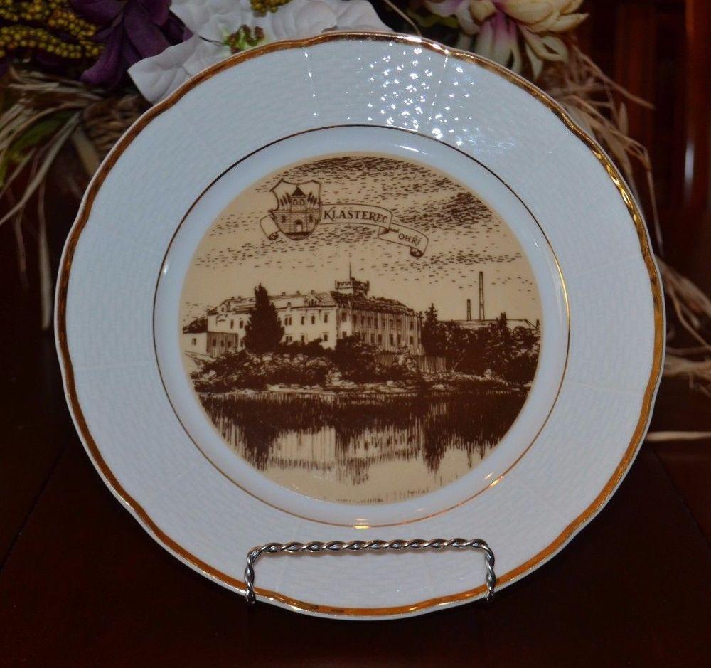 Details about Thun Porcelain Collectible Decorative Plate Klasterec nad Ohri Czech Republic & Details about Thun Porcelain Collectible Decorative Plate Klasterec ...