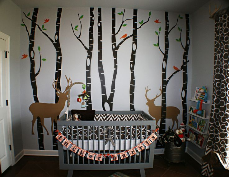Rustic Themed Baby Room Meets In This Outdoor Nursery