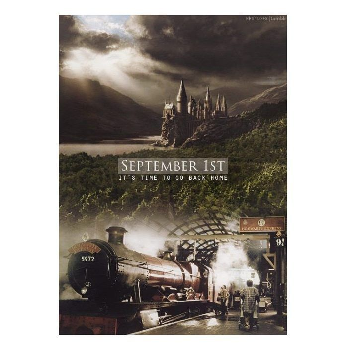 September First It S Time To Go Home Harry Potter World Hogwarts Harry Potter Universal