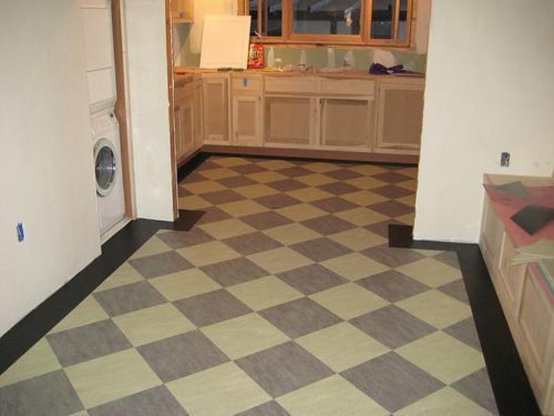 Vinyl Fußboden Küche ~ Elegante und ruhige küche boden fliesen design küche küchen