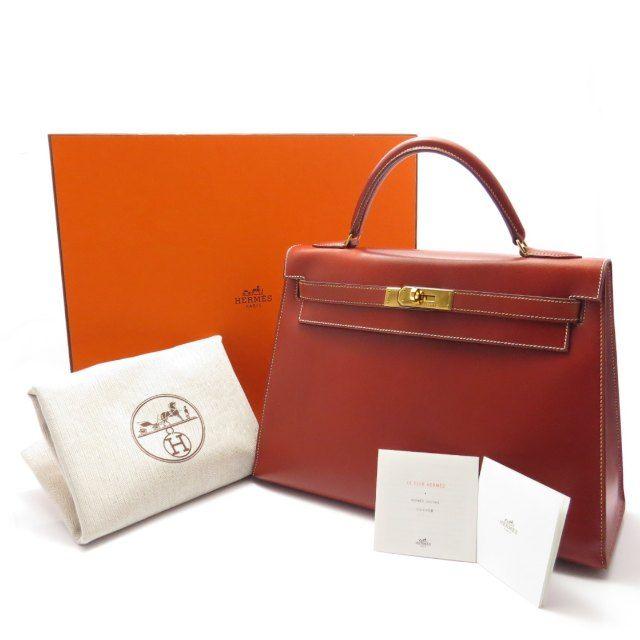 Kelly 32 Brick Red Handbag
