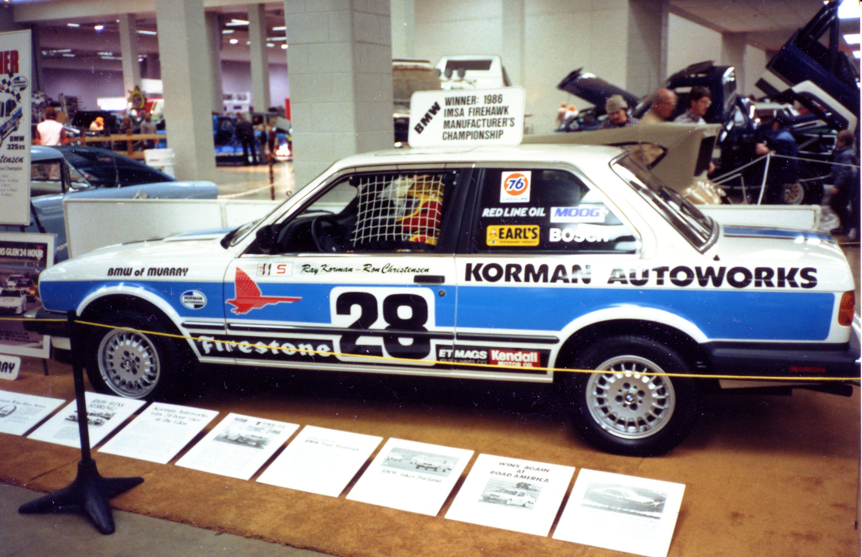 1986 bmw 325e this was a clone of the korman race car that i made [ 3000 x 1941 Pixel ]