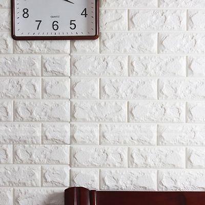 20 rollos 3D efecto Piedra Pared Ladrillos Papel Pintado Vinilo