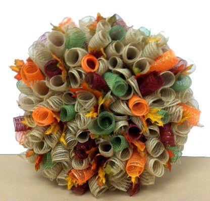 fall burlap deco mesh wreath designed by karen b a c moore erie pa