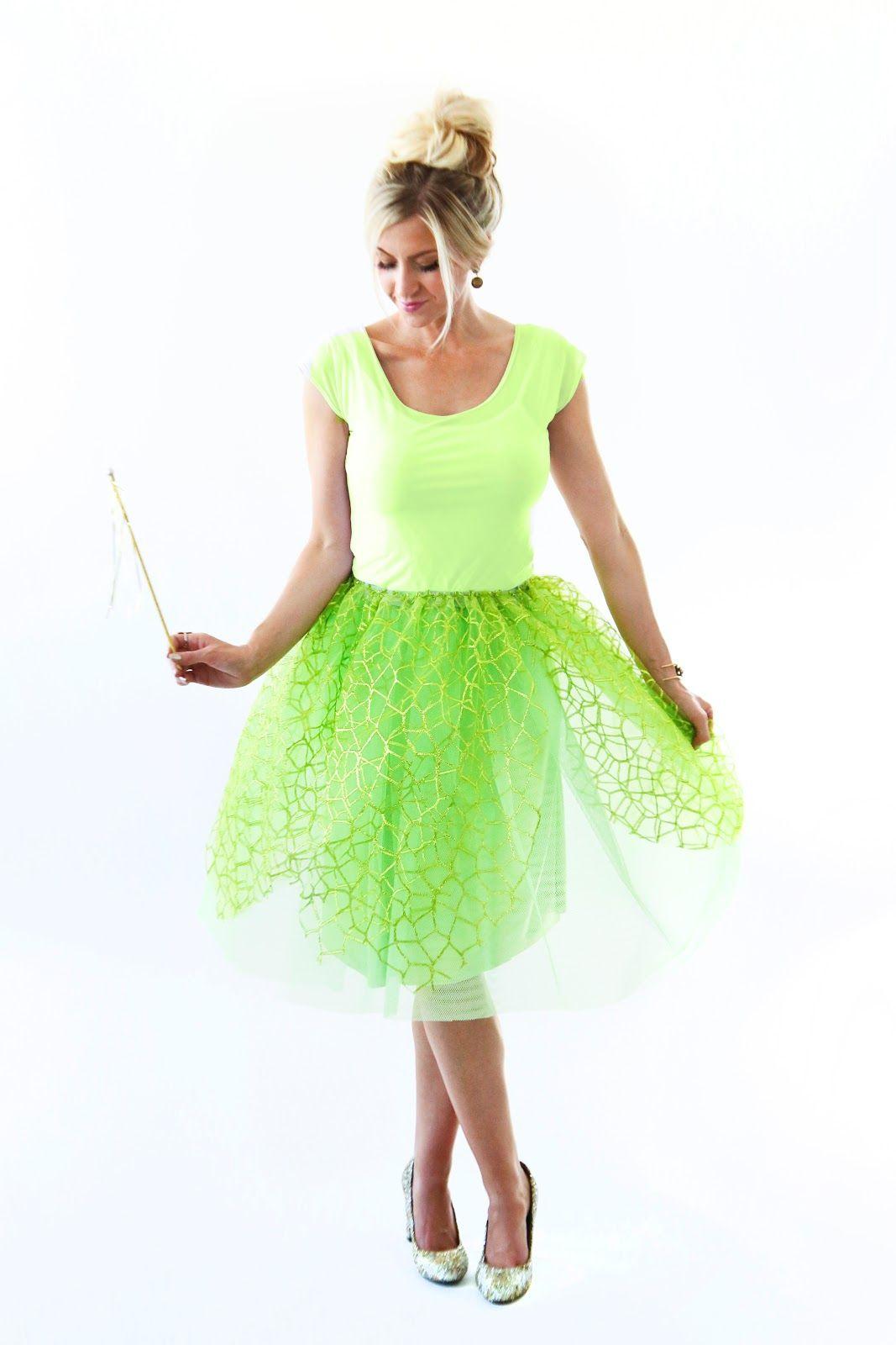 The Modern Girls Halloween Week Tinkerbell Costume Elle Apparel By Leanne Barlow Tinker Bell Costume Diy Tinkerbell Costume Halloween Girl [ 1600 x 1067 Pixel ]