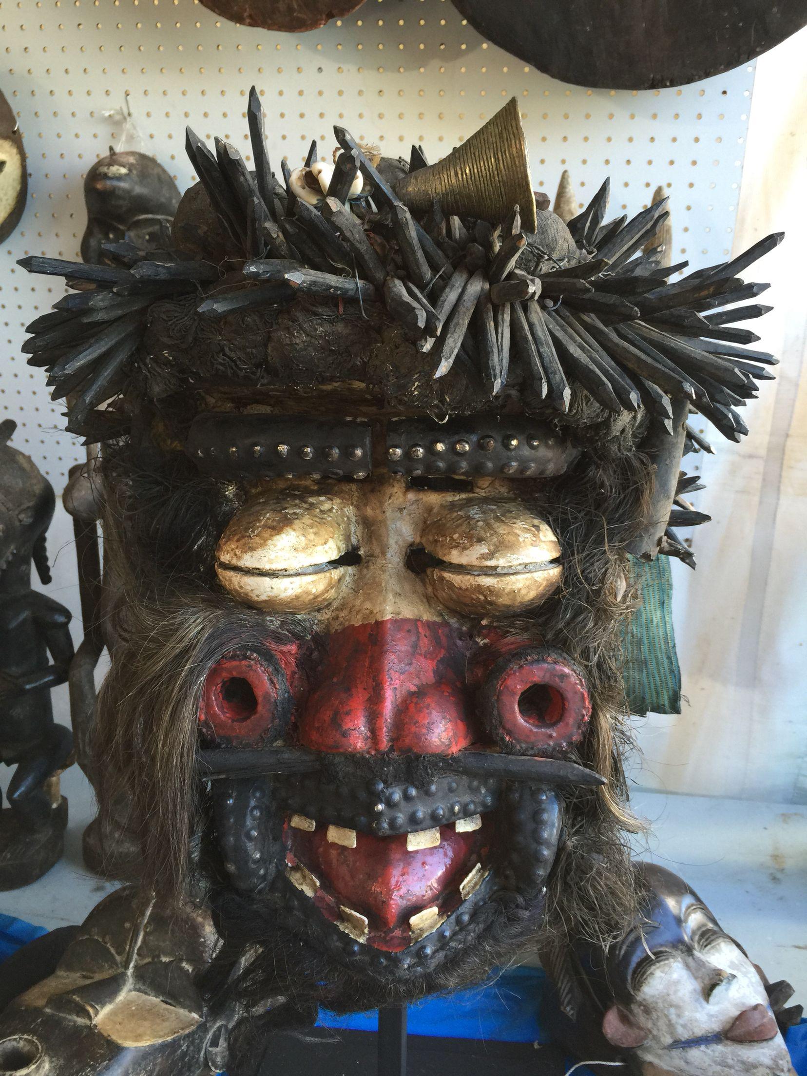 Guere mask at African Art village