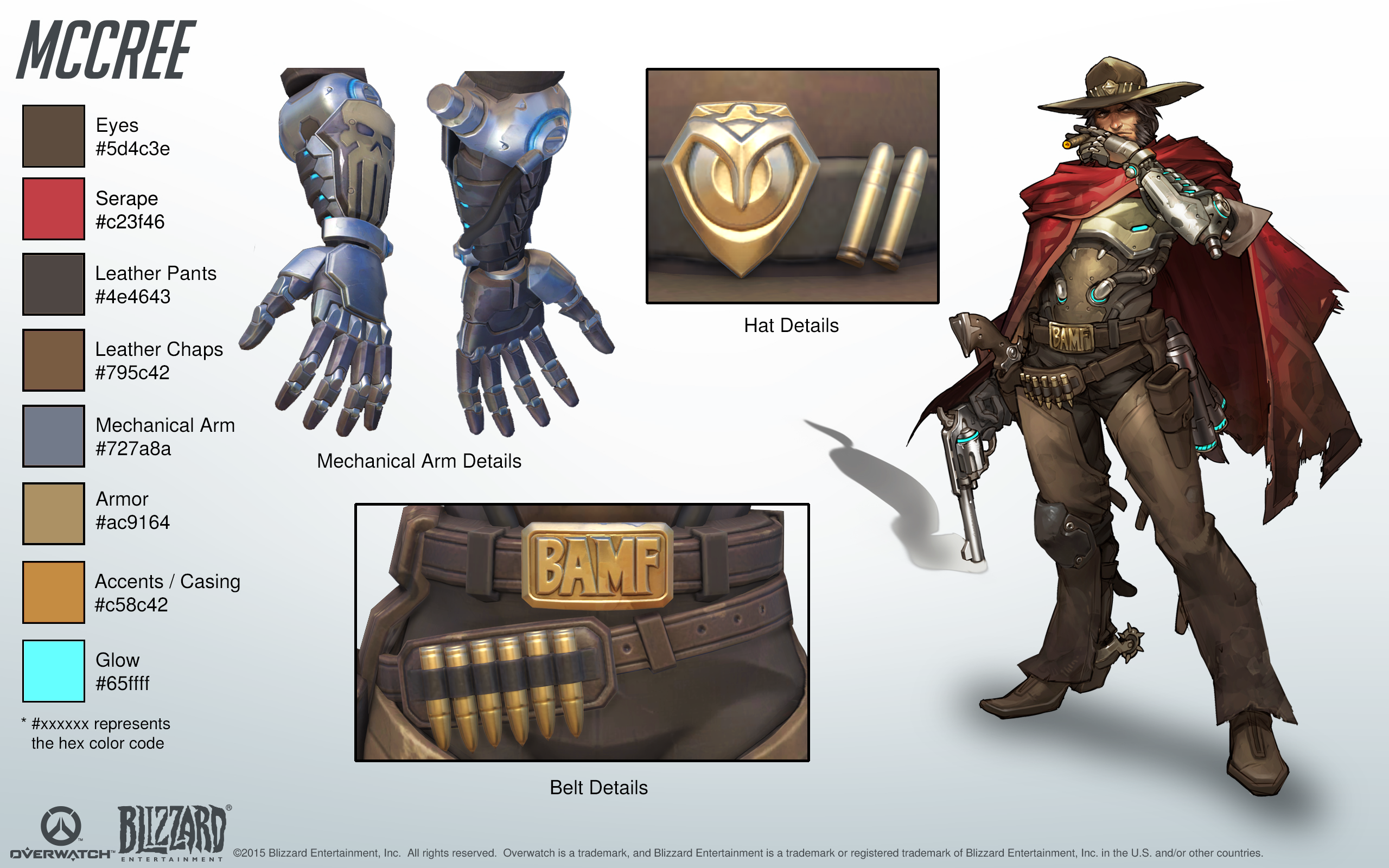Overwatch Halloween 2020 Guide McCree Cosplay Reference Guide #1   Overwatch