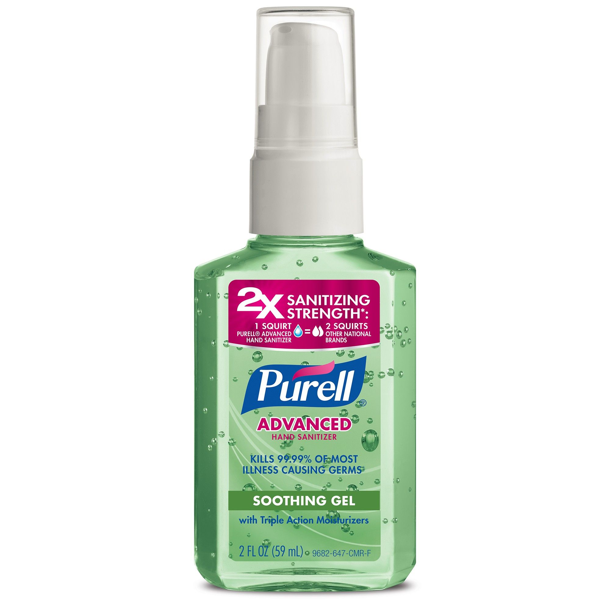 Purell Advanced Refreshing Aloe Hand Sanitizer 2 Fl Oz Hand