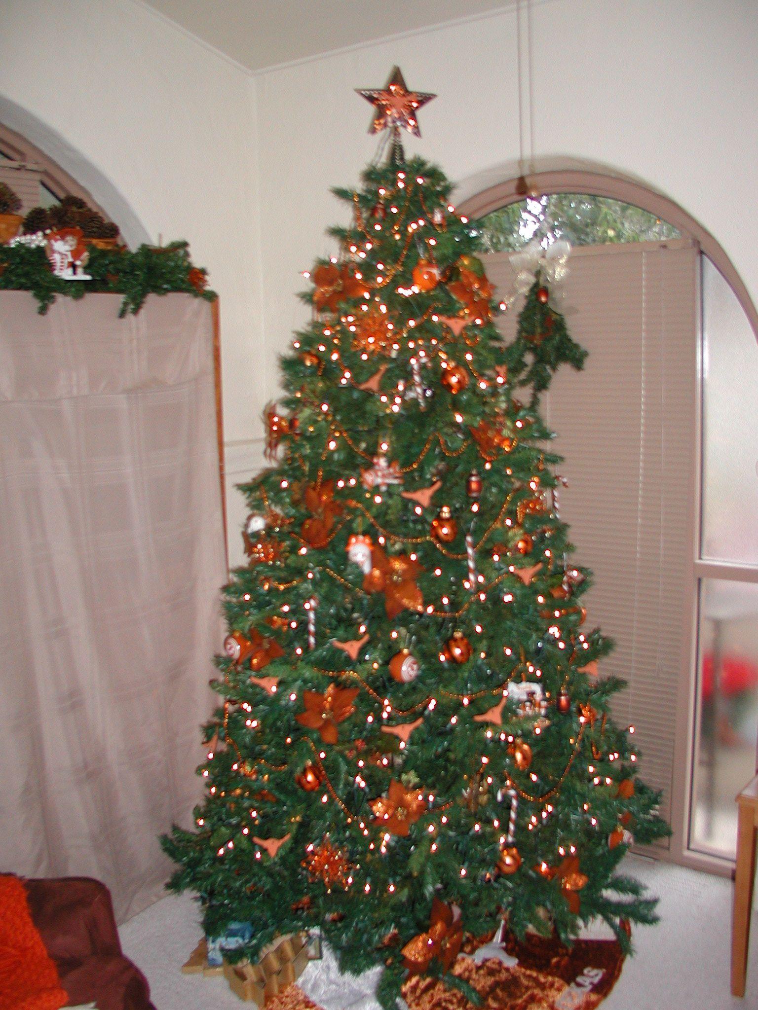 our longhorn tree christmas pinterest